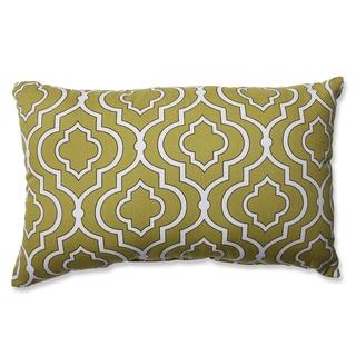 Pillow Perfect Donetta Green Rectangular Throw Pillow