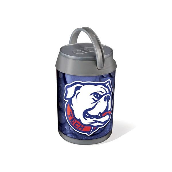 Picnic Time Louisiana Tech Bulldogs Mini Can Cooler - gray