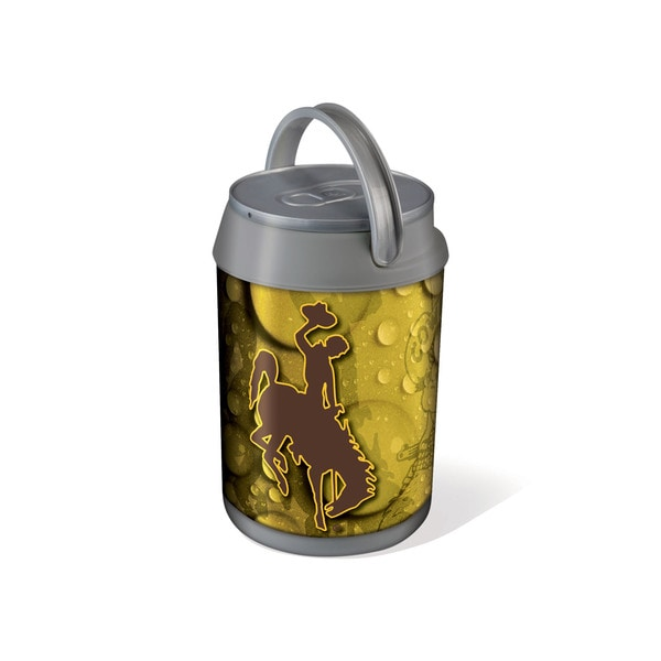 Picnic Time University of Wyoming Cowboys Mini Can Cooler