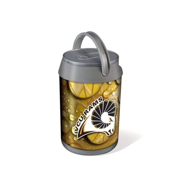 Picnic Time Virginia Commonwealth Rams Mini Can Cooler - gray