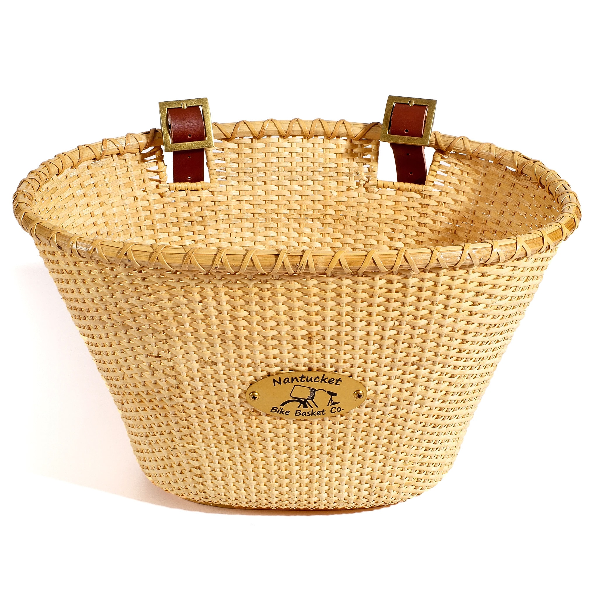 Nantucket Brand Bicycle Basket Co. Lightship Adult Oval N...