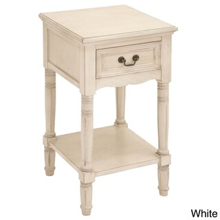 Casa Cortes Antiqued Solid Wood Night Stand (2 options available)