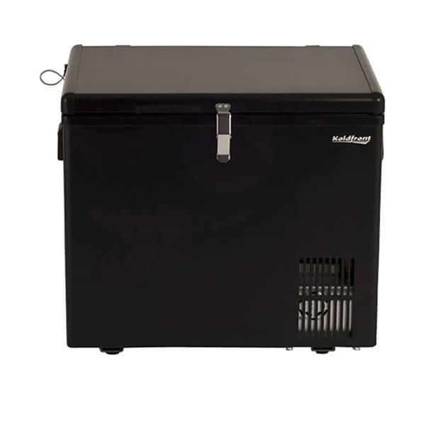 Shop Koldfront 43 Quart 12V DC Portable Fridge Freezer - Black