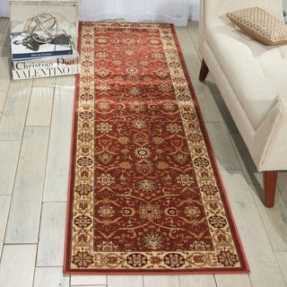 Nourison Persian Crown Brick Runner Rug (2'2 x 7'6)