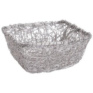 9-inch Square Twist Wire Mesh Basket