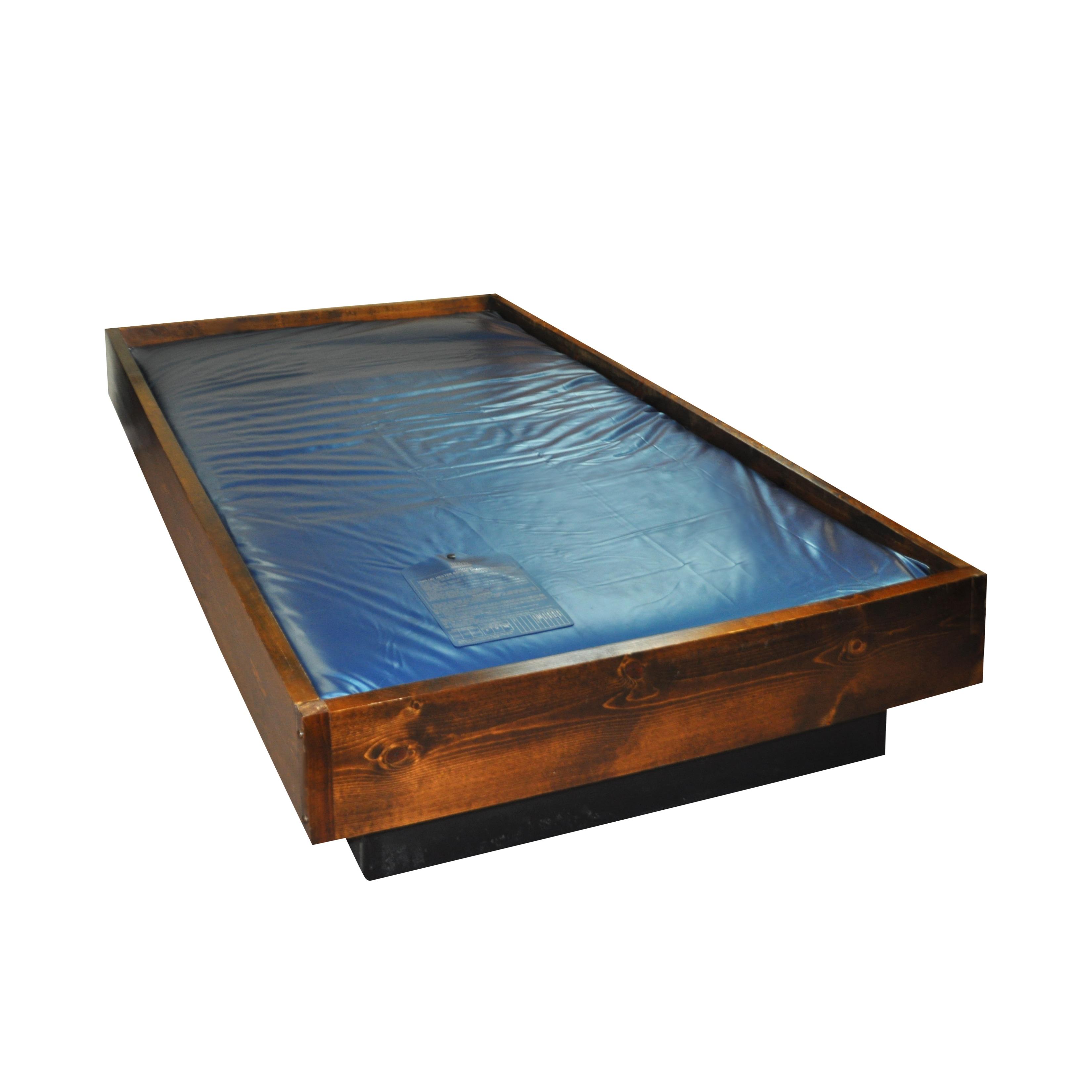 Sleep Sync Fiber 35 Super Single Size Waveless Waterbed Mattress Overstock 8381008