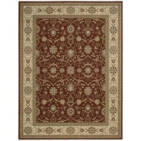Nourison Persian Crown Brick Rug - 7'10 x 10'6