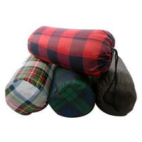 Lightweight Water-Resistant Travel Throw with Drawstring Storage Bag