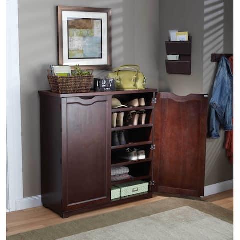 Merry Products 6-Tier Wooden Shoe Dresser