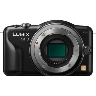 Panasonic Lumix DMC-GF3 12.1MP Black Digital Camera Body Only