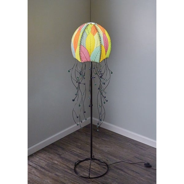 Shop Handmade Jellyfish Floor Lamp (Phillipines) - Free Shipping ... a48d1978b