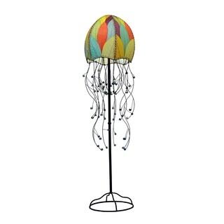 Handmade Jellyfish Floor Lamp (Phillipines)