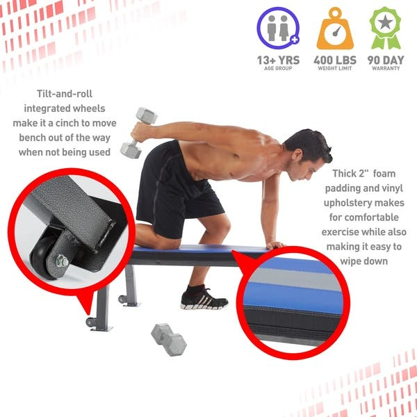 Groovy Shop Pure Fitness Flat Bench Workout Bench Weight Bench With Creativecarmelina Interior Chair Design Creativecarmelinacom
