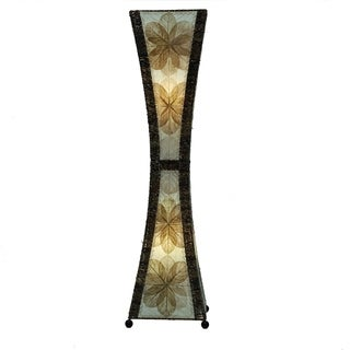 Green Hour Glass Large Floor Lamp (Phillipines)
