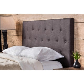 Furniture of America Jazari Modern Adjustable Linen Headboard