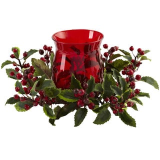 Holly Berry Candlebrum