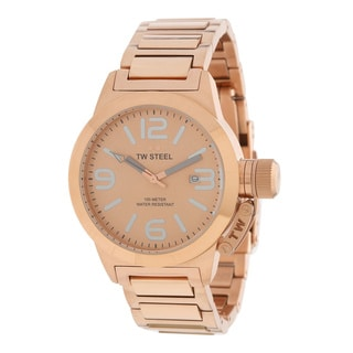 TW Steel Canteen Women's Rose Goldtone Steel Watch