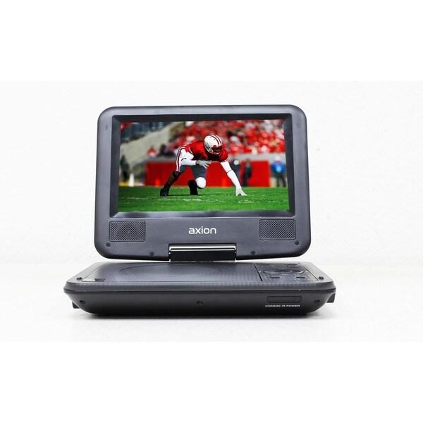 Axion LMD-8710 Black 7-inch Portable DVD Player