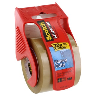 Scotch Heavy Duty Shipping Packaging Mailing Tape