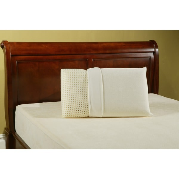 Sleep Zone Ventilated European Memory Foam Pillow