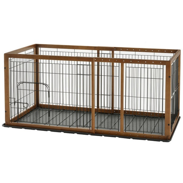 Richell Expandable Pet Pen Free Shipping Today Overstock