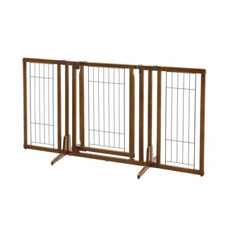 Richell Premium Plus Freestanding 2'8 x 2'10-5'3 Pet Gate