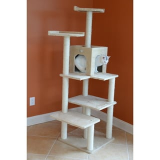 "Glee Pet 68"" Beige Cat Tree"