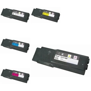 Refilled Insten Premium 2BCMY Color Toner Cartridge 106R02228/ 106R02227/ 106R02226/ 106R02225 for Xerox Phaser 6600/ 6600dn