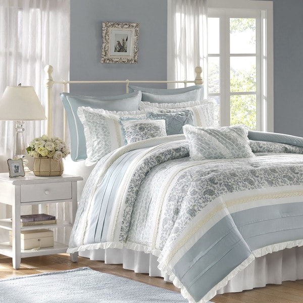 Madison Park Vanessa 9 piece Comforter Set Free Shipping