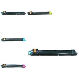 Refilled Insten Premium 2BCMY Toner Cartridge 006R01513/ 006R01514/ 006R01515/006R01516 for Xerox WorkCenter 7530/7535/7545/7556