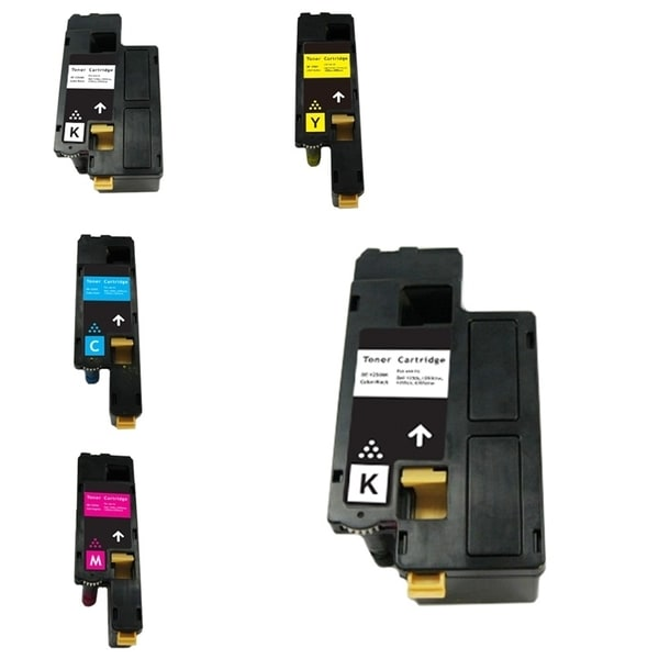 INSTEN 5-ink Cartridge Set for Dell 1250/ 1350/ 1355