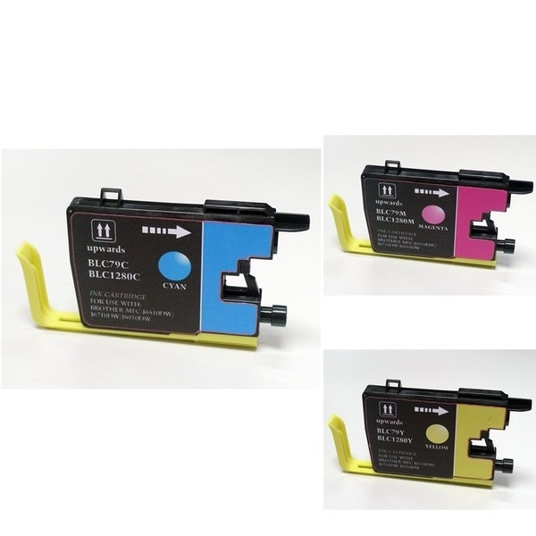 INSTEN 3-ink Cartridge Set for Brother LC79