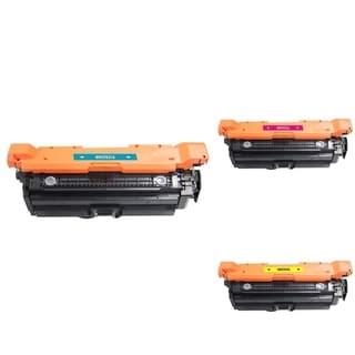 INSTEN 3-ink Cartridge Set for HP CF031A/ CM4540