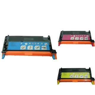 INSTEN 3-ink Cartridge Set for Dell 3130/ 3130CN