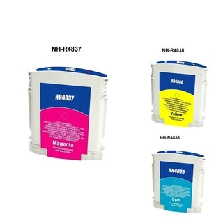 Insten Magenta Remanufactured Ink Cartridge Replacement for HP C4837A/ 11