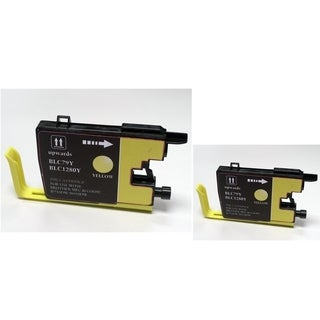 INSTEN 2-ink Yellow Cartridge Set for Brother LC79 Y