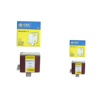 INSTEN 2-ink Yellow Cartridge Set for BCI-1411Y