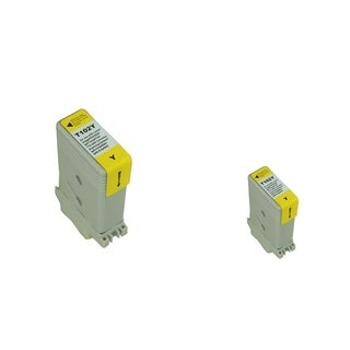INSTEN 2-ink Yellow Cartridge Set for Canon PFI102Y