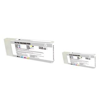 INSTEN Epson T544400 2-ink Yellow Cartridge Set (Remanufactured)