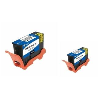 INSTEN 2-ink Black Cartridge Set for Dell 31/ 32/ 33/ 34