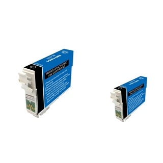 INSTEN Epson T125120 2-ink Black Cartridge Set (Remanufactured)
