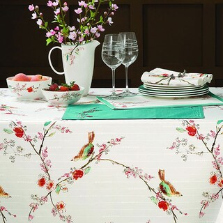Lenox Chirp Microfiber Tablecloth (5 options available)