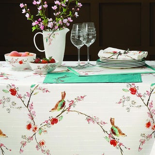 Lenox Chirp Microfiber Tablecloth