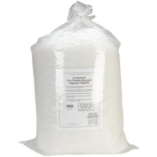 Eco-Friendly Recycled Polyester Fiberfill-White - 5lb FOB: MI