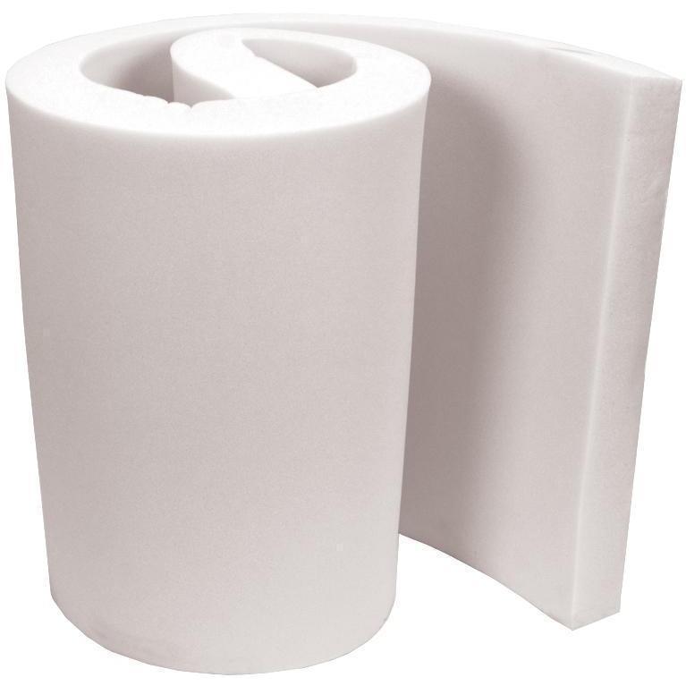 Extra High Density Urethane Foam 4 X24 X82 - White (Extra...