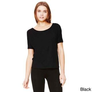 Bella Women's Flowy Cutout Back T-shirt (2 options available)