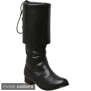 Funtasma Men's 'Pirate-100' Cuffed Knee-high Boots
