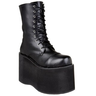 Funtasma Men's 'Monster-10' Black Platform Ankle Boots (4 options available)