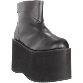 Funtasma Men's 'Monster-02' Black 5-inch Platform Ankle Boots