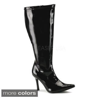 Funtasma Women's 'Lust-2000X' Black Wide Width Knee-high Boots